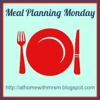 Meal Planning 2013 - Week 13