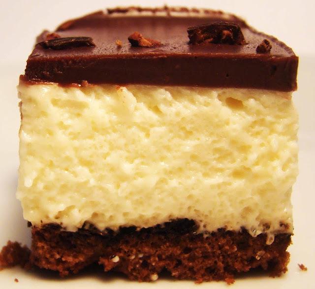 Mousse de Leche Condensada con Café y Crema de Chocolate Semiamargo