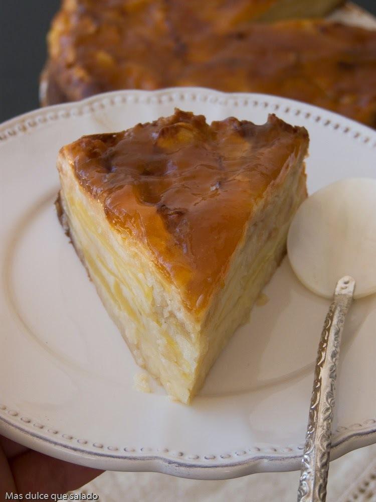 Tarta de manzana:Receta de familia