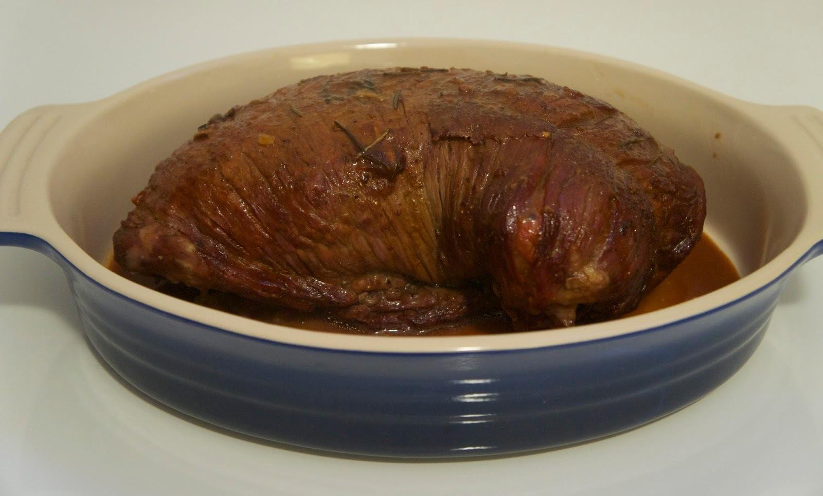 carne recheada assada no forno