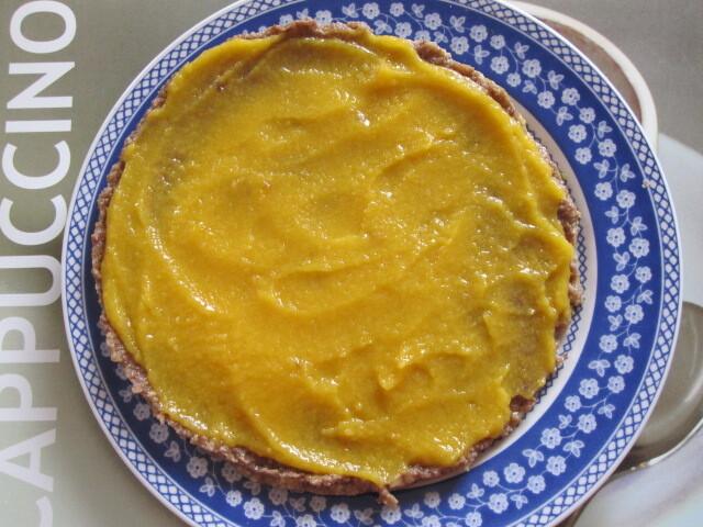 Torta de banana e frutas sêcas sem açúcar (crua)