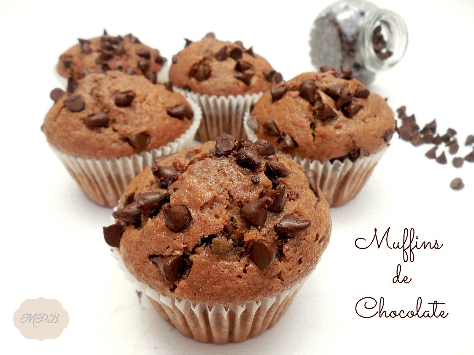Muffins de chocolate (tipo Starbucks®)