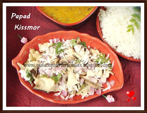 Papad Kissmor | Goan Side Dish