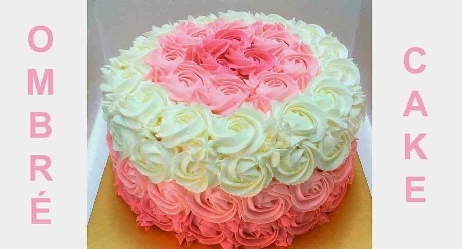 Vídeo PAP Ombré Cake Rosa (perfeito)