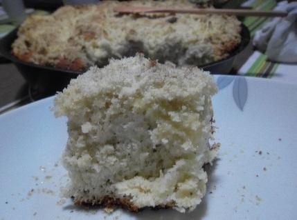 pão sem carboidrato com farinha de coco