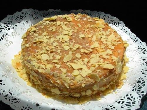 Torta de Alfajor & Manjar