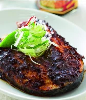 Zhajiang grilled salmon