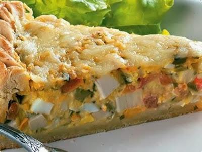 torta de palmito sem gordura vegetal