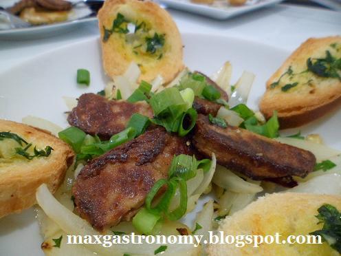 de patê de pato com foie gras