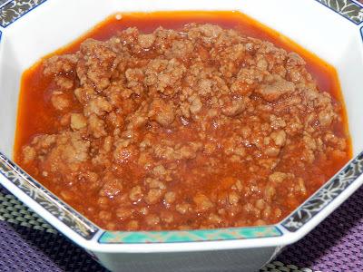 Molho à Bolonhesa (ou) Carne Moída com Molho de Tomate