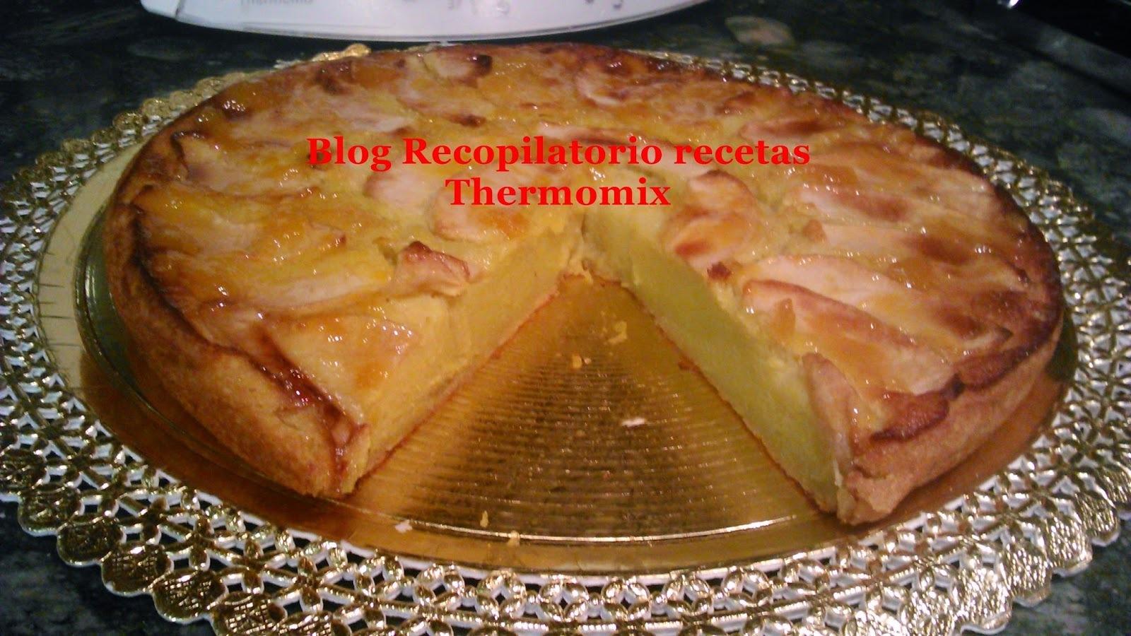 Tarta de manzana con thermomix