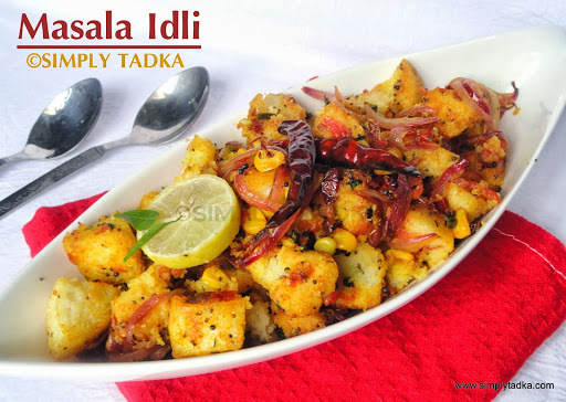 Fried Masala Idli