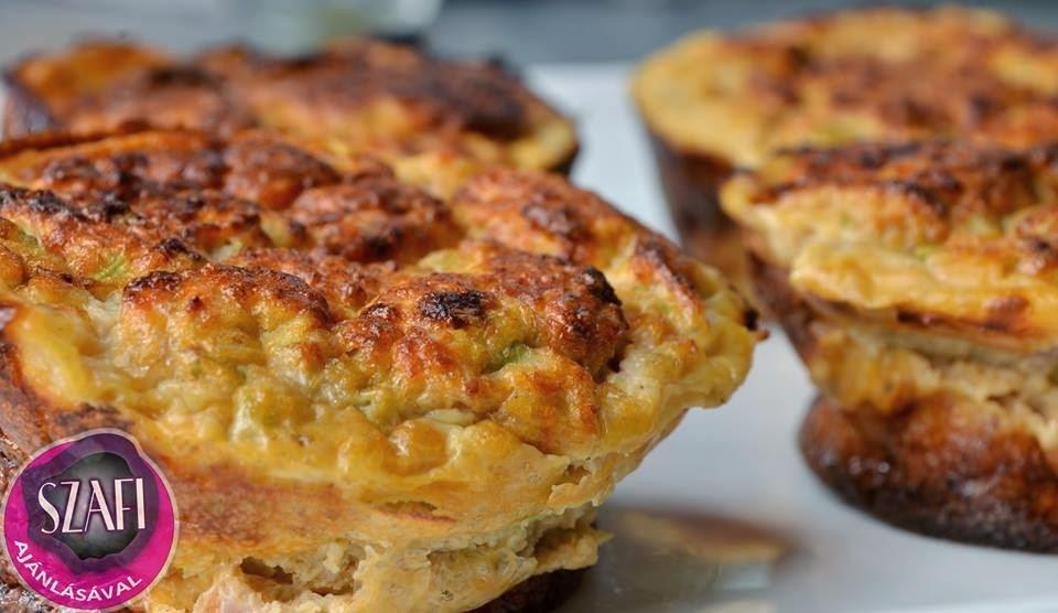 Rántotta muffin (paleo vacsora recept)