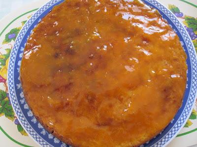 Torta de laranja e Dia dos Pais