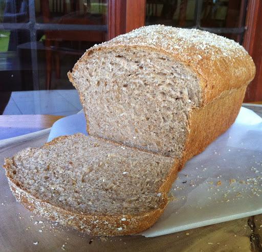 de pão com farelo de trigo aveia e linhaça