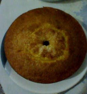 bolo de fuba de liquidificador fofinho com margarina
