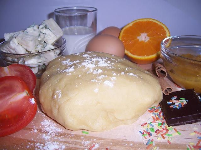 masa de tarta dulce de la hermana bernarda