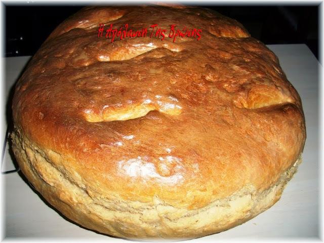 Ψωμί αφράτο χωρίς ζύμωμα