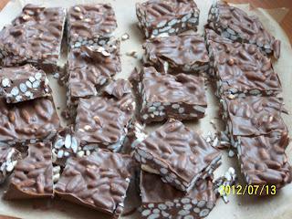 Diabetikus rizses csoki - minimális munkával (gluténmentes)