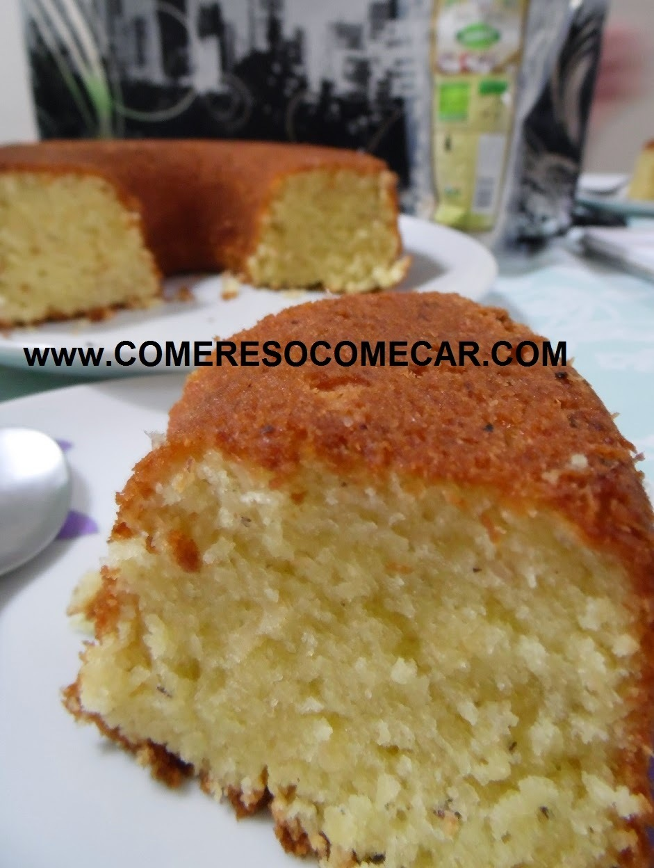 bolo de aipim massa pronta com leite de coco