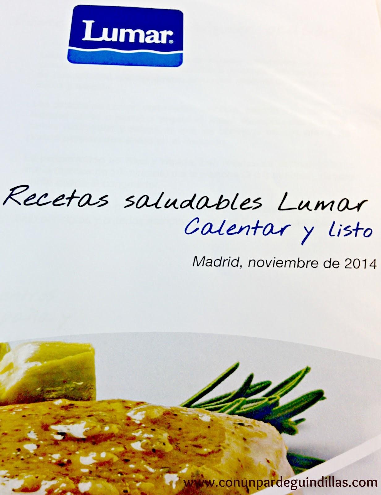 Menús saludables de Lumar, asistimos a su presentación