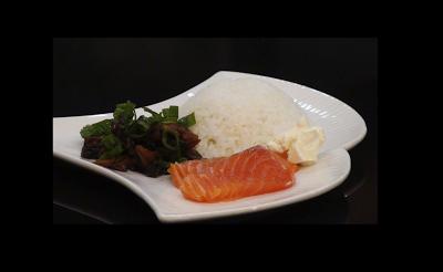 shimeji salmão