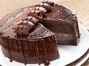 Bolo de Chocolate Belga