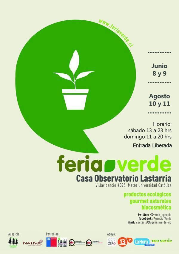 Feria verde: Vitrina de pymes Gourmet