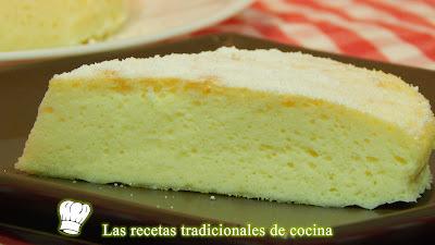 Receta fácil de pastel de queso esponjoso