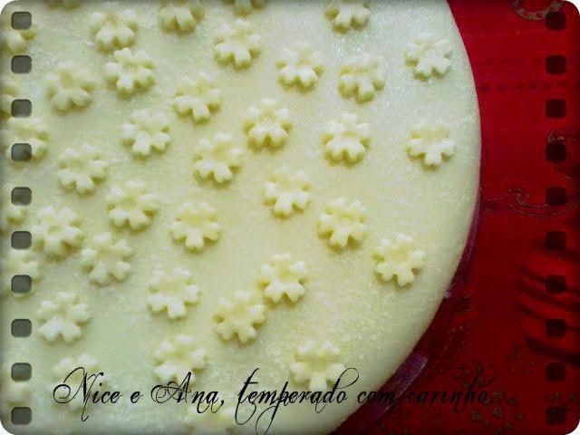Torta de Coco Queimado e Laranja e Parabéns Mãe !!!