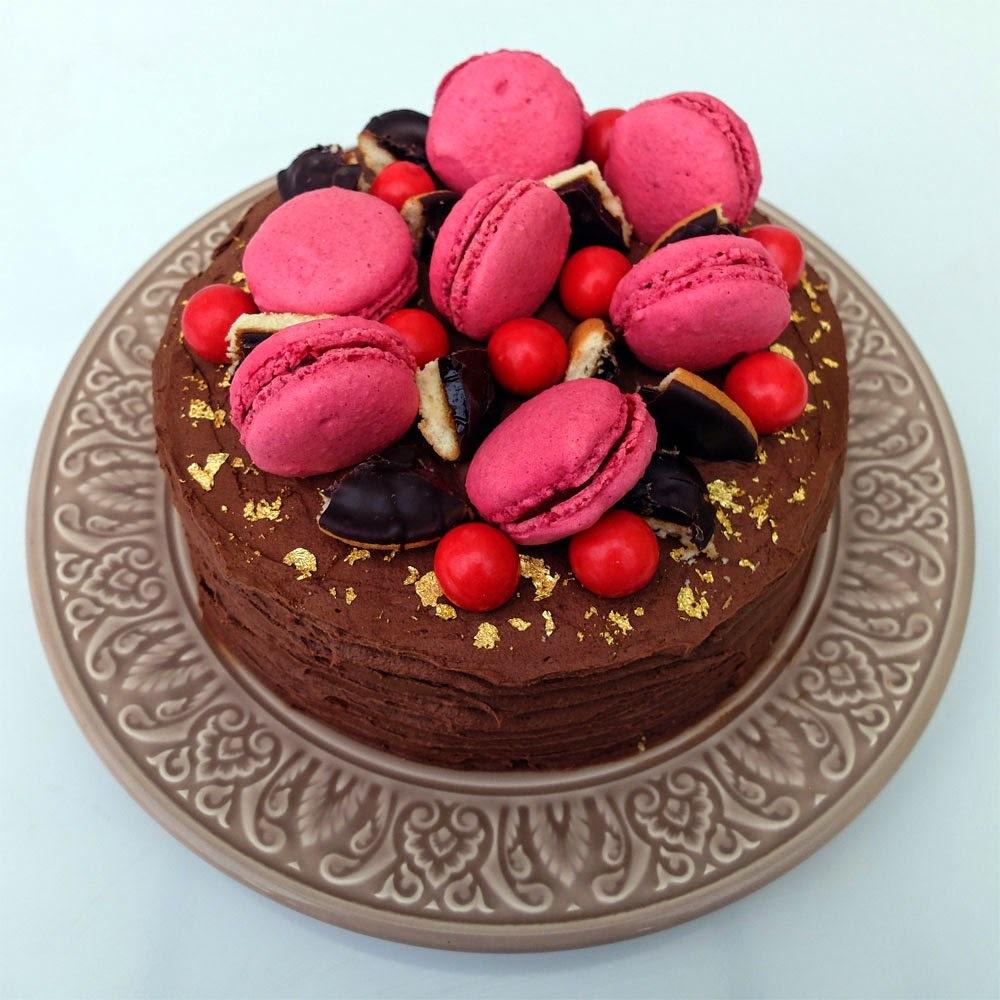Gâteau chocolat/framboise façon Pim's