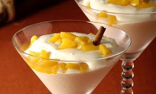 de geladinho de frutas natural