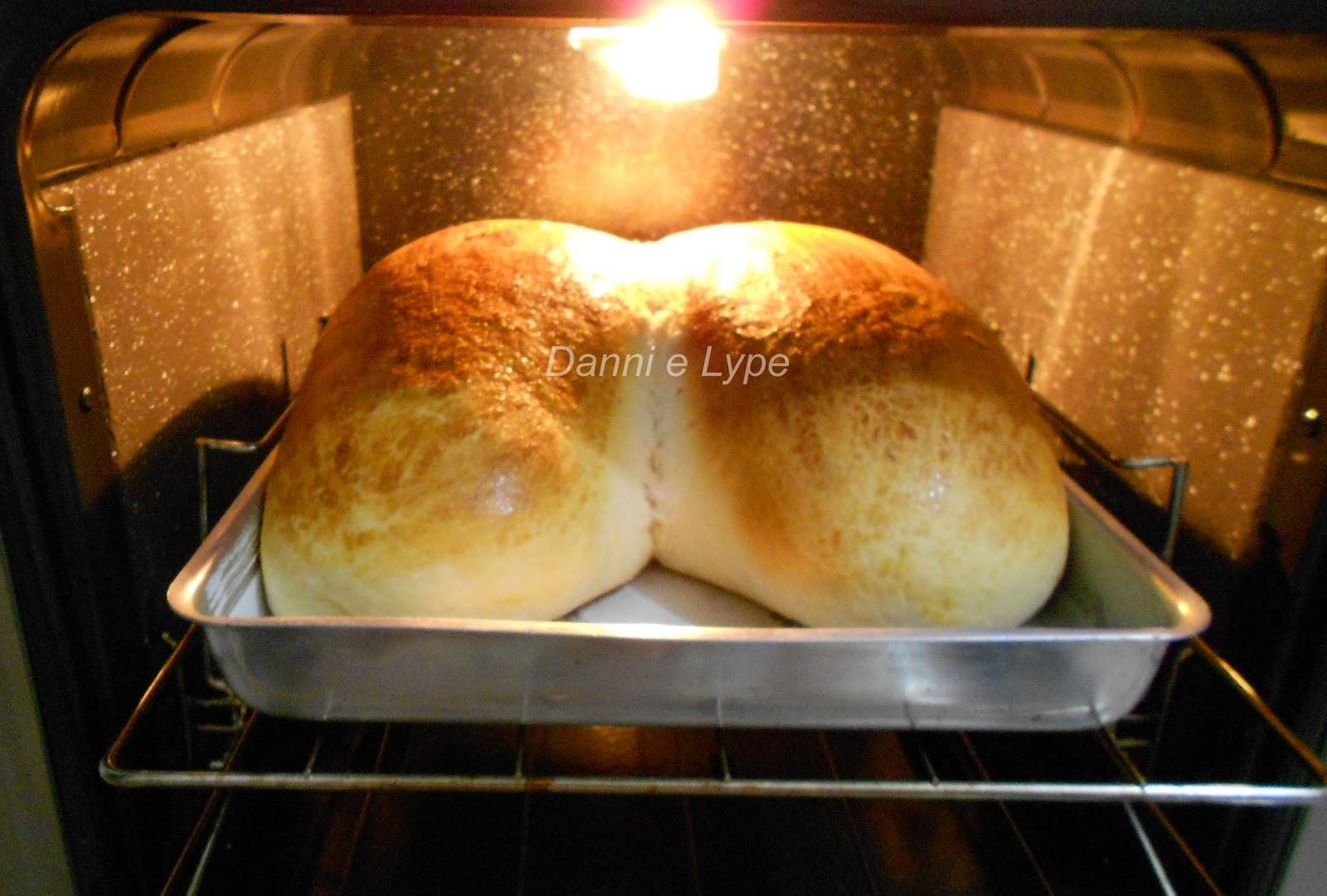 de pão de batata caseiro com fermento seco