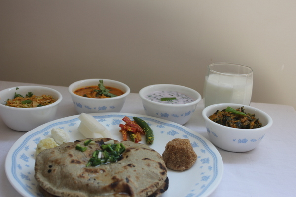 Gujarati Kathiawari Winter Meal