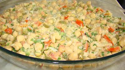 Salada de Grão de Bico – Versão 2