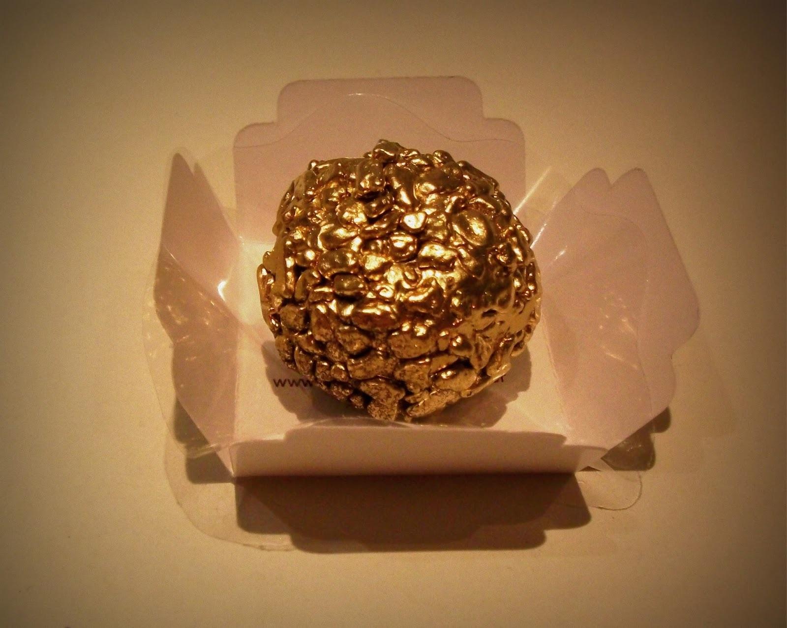 Brigadeiro Belga dourado