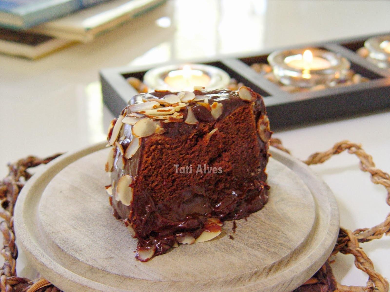 Bolo de Chocolate Sem