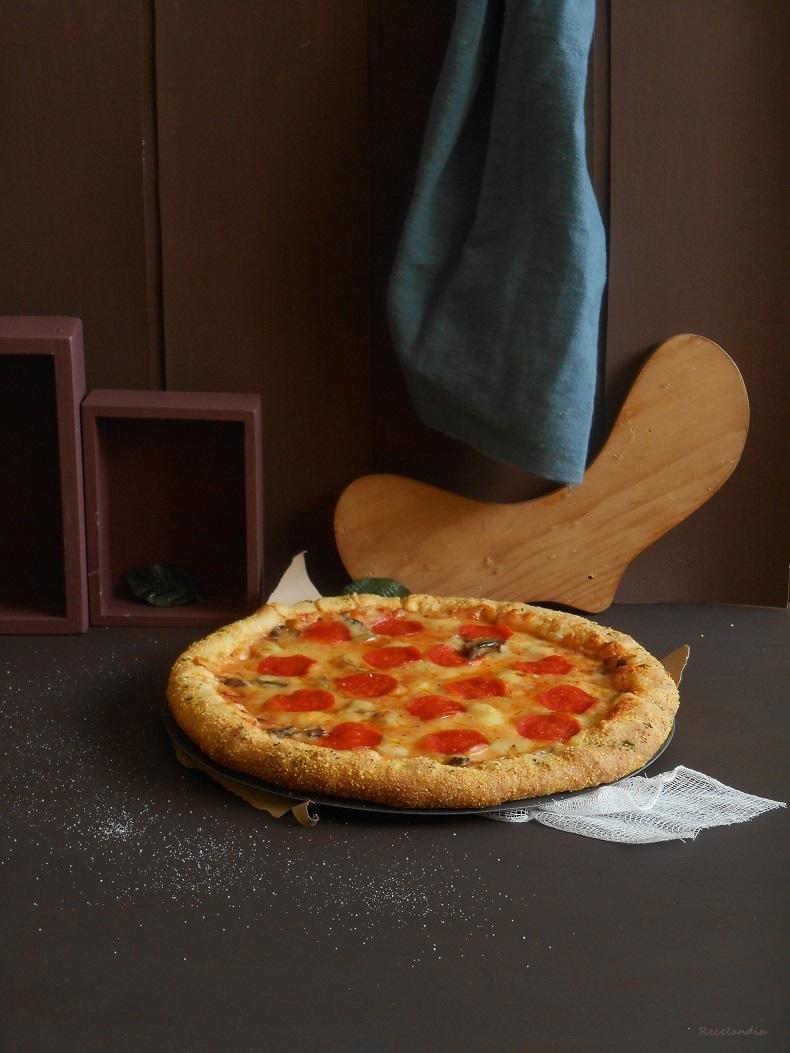 """Pizza """"estilo Domino's"""" (Versión casera)"""