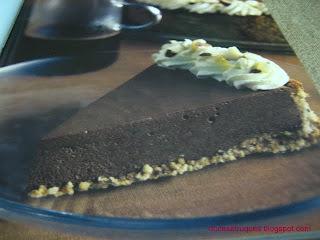 torta chiffon de chocolate chantilly