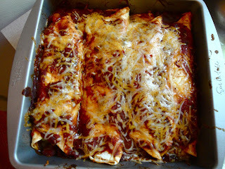 Dinner Tonight: Vegetarian Enchiladas with Cilantro Crema
