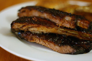 Maple-Roasted Pork Spareribs