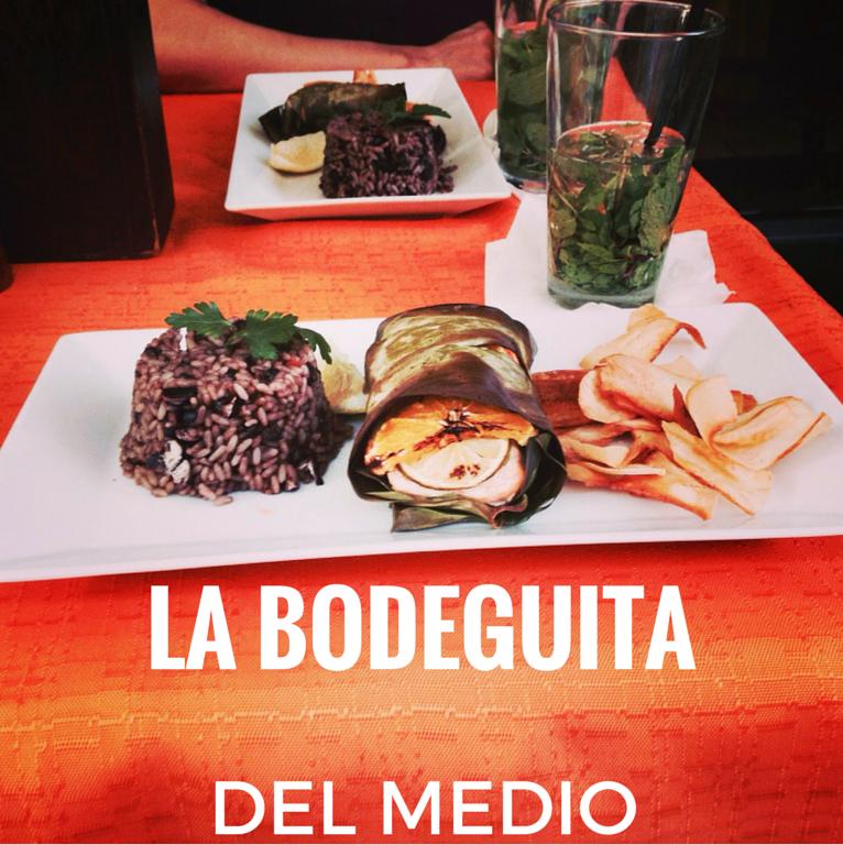 CUBAN DINNER PARTY AT LA BODEGUITA DEL MEDIO