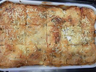 Torta de forno de massa de pastel