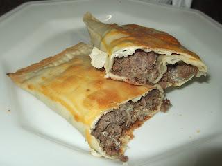 Pastel  de carne assado