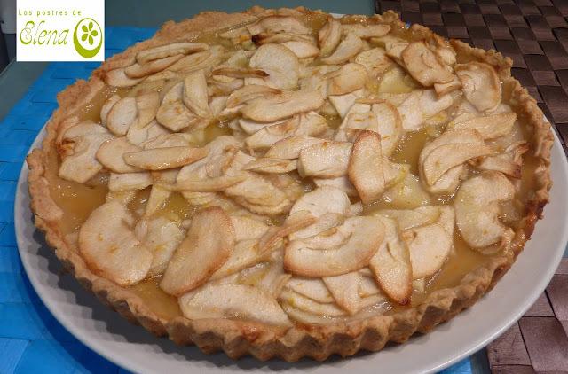 Tarta de manzana y naranja