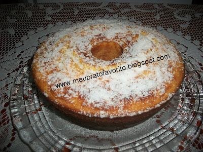 bolo de milho em lata no liquidificador simples