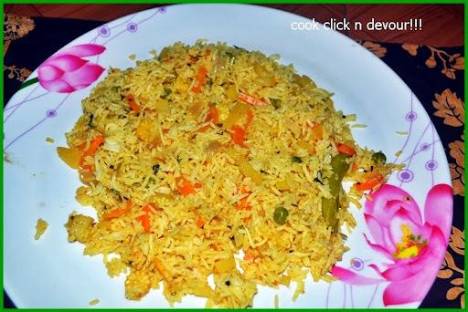 vegetable pulao restaurant style