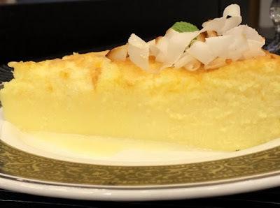 Torta Cremosa de Coco e Requeijão (Ana Maria Braga)