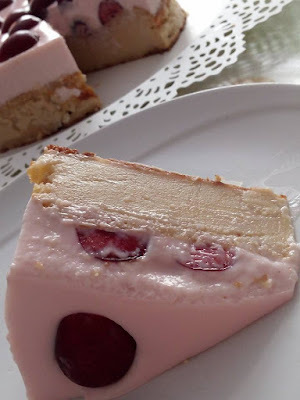 Tarta de cerezas de Bolea, la perla roja