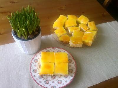 Žravé řezy s mandarinkami